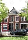 foto van Pand van parterre en verdieping met hoog schilddak