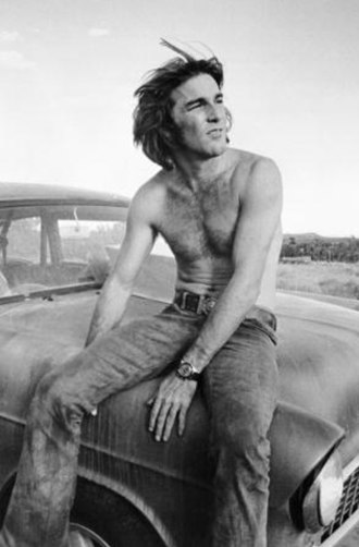 Dennis Wilson - Wilson in a 1971 promotional shot for the film Two-Lane Blacktop