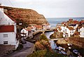 Descent from Cowbar towards Staithes harbour - geograph.org.uk - 585452.jpg