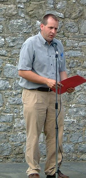 Des Dalton - Des Dalton speaking at Bodenstown