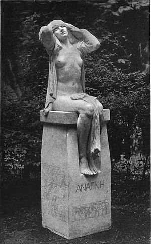 Ananke (mythology) - Ananke, by Gilbert Bayes.