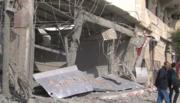 Destroyed Gaza service