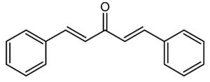 Dibenzylideneacetone - Image: Dibenzylideneacetone