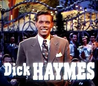Dick Haymes actor and singer