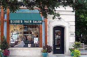 Diego's Hair Salon located at 1901 Q Street, N...