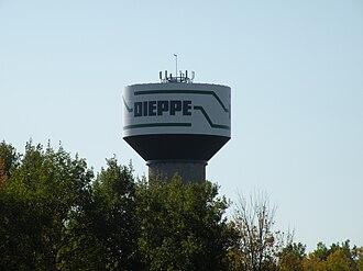 Dieppe, New Brunswick - Dieppe Watertower