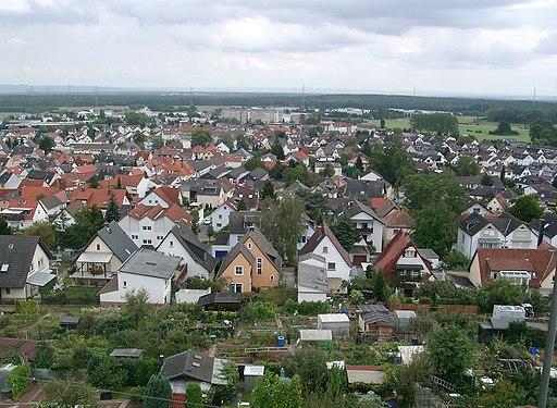 Dietzenbach von Oben 20070912