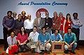 Digambar Kamat, the Chairman, UB Group, Shri Vijay Mallya, the Director General (M&C) & Director, DFF, Shri S.M. Khan, the CEO, Entertainment Society of Goa.jpg