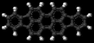 Diindenoperylene - Image: Diindenoperylene 3D balls