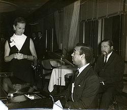 Dina Merrill & Bobby Short