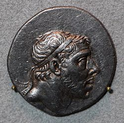 Dinastia attalide di pergamo, pharnakes I, tetradracma del ponto, 185-170 ac ca.JPG