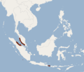 Distribution of Hypsugo macrotis.png