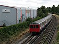 District Line train leaving Richmond - geograph.org.uk - 1974929.jpg