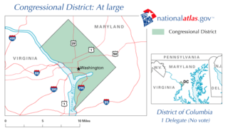 District of Columbias at-large congressional district