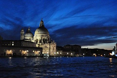 Dogana Santa marie de la salute Venezia