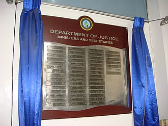 Department of Justice (Philippines) - Image: Doj 22jf