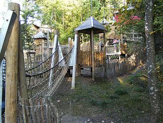 Provincial park - Chevetogne Provincial Park - Play area