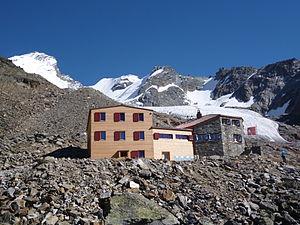 Domhütte in September 2013