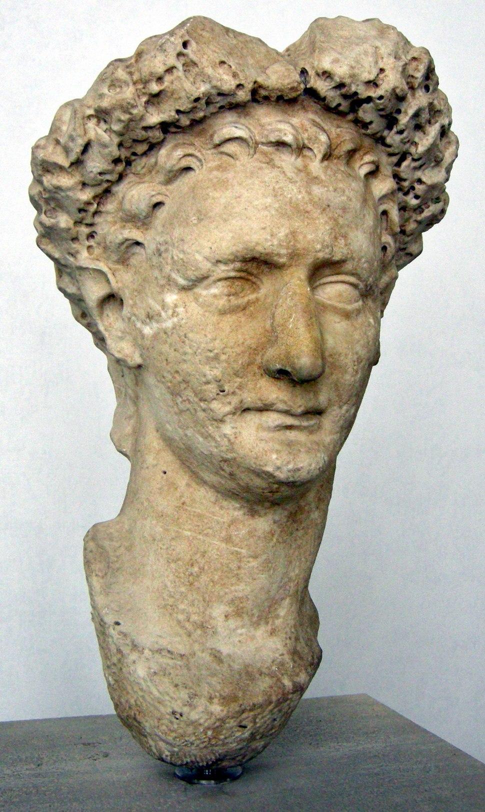 Domiziano da latina, 81-96 dc.