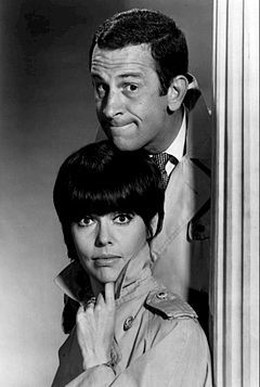 Don Adams Barbara Feldon Get Smart 1965.JPG