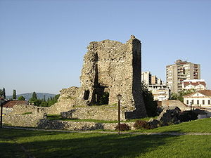 Kruševac Fortress - Image: Don Zon kula