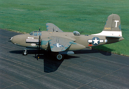 A-20G Havoc displayed at the National Museum of the U.S. Air Force. - Douglas A-20 Havoc