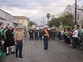 Downtown Irish Parade 2013 Military Band 1.JPG