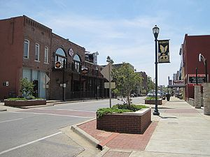 Arkansas Delta - Jonesboro, the largest city in the delta region