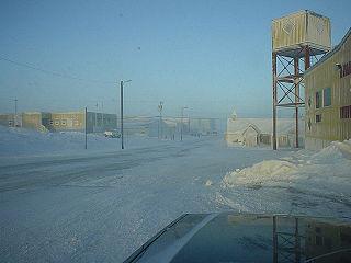 Rankin Inlet Place in Nunavut, Canada
