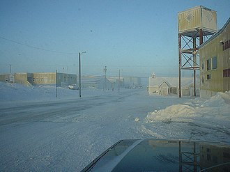 Rankin Inlet - Image: Downtown Rankin Inlet