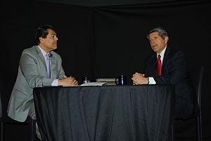 Center for the Study of Los Angeles - L.A. County Supervisor Zev Yaroslavsky and CSLA Director Fernando Guerra