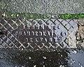 Drain cover, Bangor - geograph.org.uk - 2306707.jpg