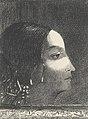 Dramatique et grandiose avec sa figure de prêtresse druidique by Odilon Redon Van Gogh Museum p2751-007N2012.jpg