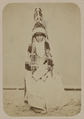 "Dress of a Kyrgyz Woman. ""Saukele"" Turkish, a Ceremonial Hat - WDL.png"