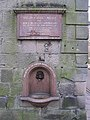 Drinking fountain in Langholm town centre - geograph.org.uk - 603822.jpg
