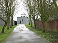 Driveway to the 100th Bomb Group Memorial Museum - geograph.org.uk - 1779828.jpg