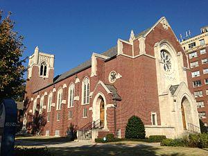 Francis Palmer Smith - Druid Hills Presbyterian Church (1939–40), 458 Ponce de Leon Avenue NE, Virginia-Highland, Atlanta
