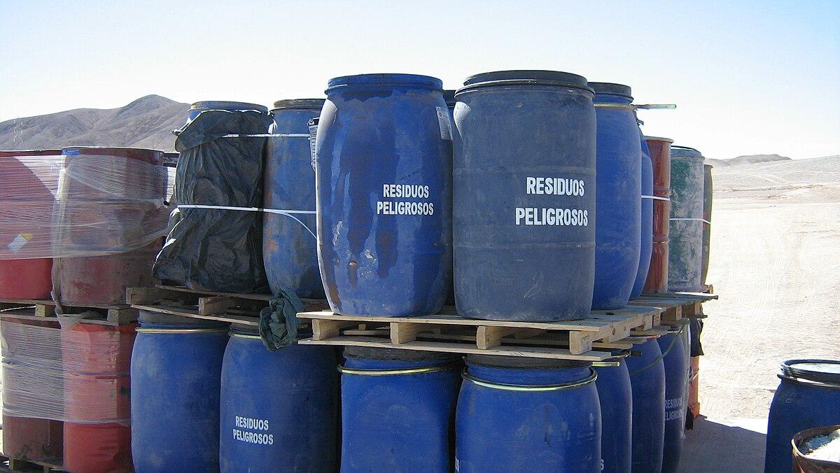 Recogida residuos industriales