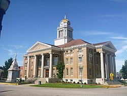 Dubois County Courthouse in Jasper, Indiana, July 2014.jpg