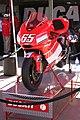 Ducati Desmosedici GP5 of Loris Capirossi on display 2005 Laguna Seca.jpg