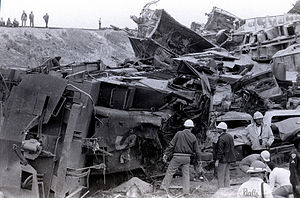San Bernardino train disaster - Duffy St. train disaster San Bernardino California May 12, 1989