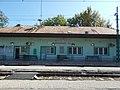 Dunaharaszti külső HÉV-állomás, felvételi épület, vágányoldal, 2019 Dunaharaszti.jpg