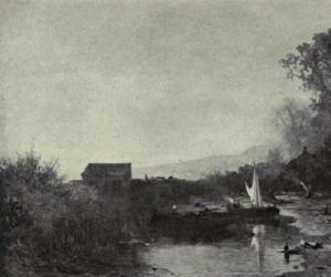 Johannes Warnardus Bilders - Image: Dutch Painting in the 19th Century J. W. Bilders The Little Lake