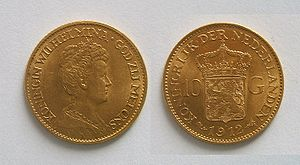 Dutch coin 10 guilders 1912.jpg