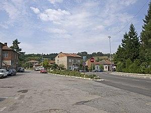 Dimovo Municipality - E78 road in Dimovo