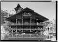 EAST ELEVATION OF PAVILION - Mohonk Mountain House, Mountain Rest Road, New Paltz, Ulster County, NY HABS NY,56-NEWP.V,4-19.tif
