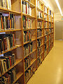 EYE Film Institute Netherlands - Library bookshelves - 2014.JPG