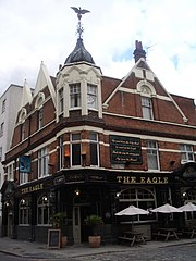 The Eagle, City Road, Islington, London, September 2005