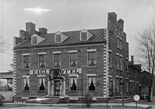 Habs Photo Of The Hotel In 1933
