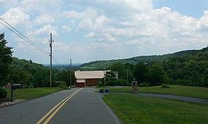Earl Township, Berks County, Pennsylvania - Hillside vista in Earl Township